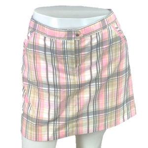 Golf Skort~Izod Cool FX~Pink Plaid Skirt & Shorts